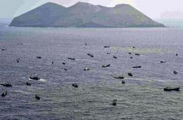 日媒炒作中国212艘渔船出现在小笠原群岛近海