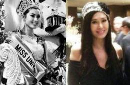 泰国环球小姐近50年容貌身材无变化 美艳不减当年