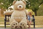 美推出2.4米超级泰迪熊