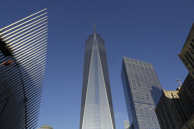 纽约新世贸中心在9-11恐怖袭击13年后重新开放