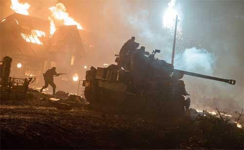 """《狂怒》""""地狱再现"""" 二战真实场面极致还原"""