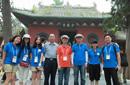韩友好使者团访问少林寺