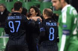 欧联杯多多破门 圣埃蒂安1-1国际米兰