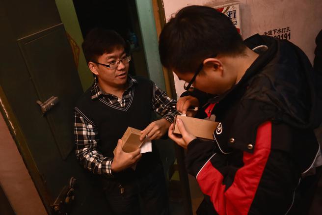天猫双十一首个小米手机订单于11日6时50分送至北京用户