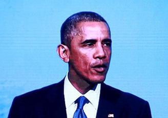 奥巴马APEC演讲以中文开场获掌声