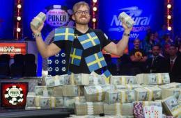 瑞典人扑克世锦赛夺冠 当场获千万美元现金