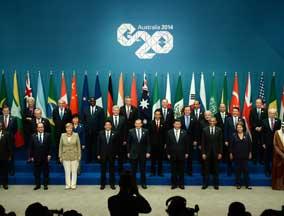 G20峰会拍摄全家福照片