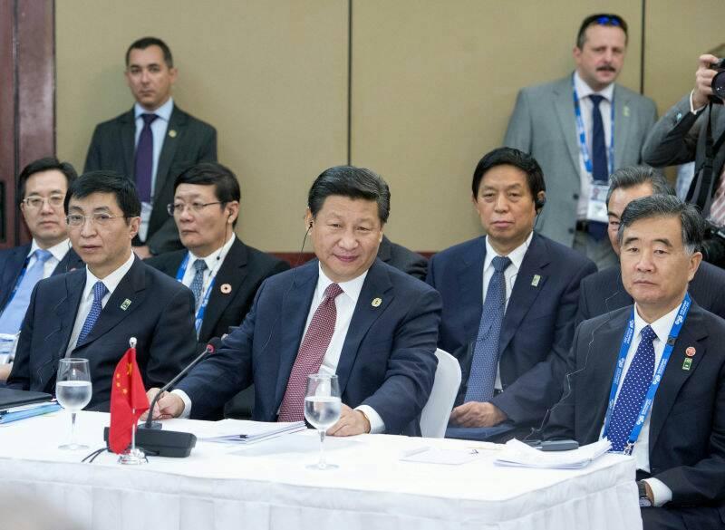 2014年11月15日金砖国家领导人非正式会晤在澳大利亚布里斯班举行图片