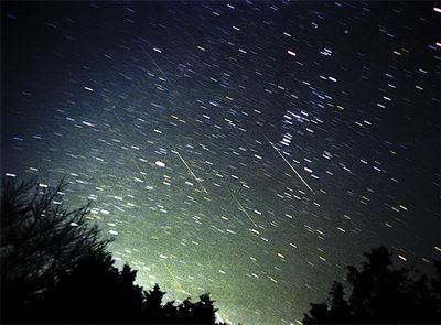 狮子座流星雨将于11月18日光临地球