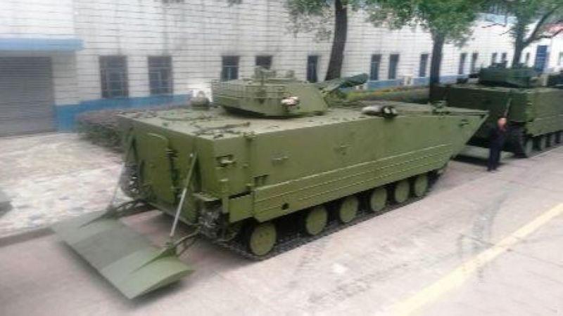 国产05式两栖战车出口委内瑞拉