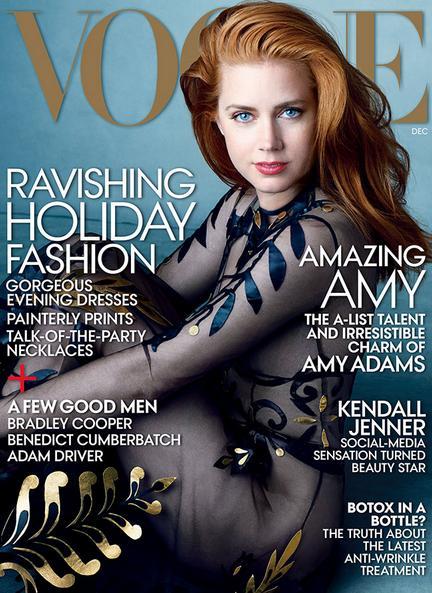 《vogue》杂志封面