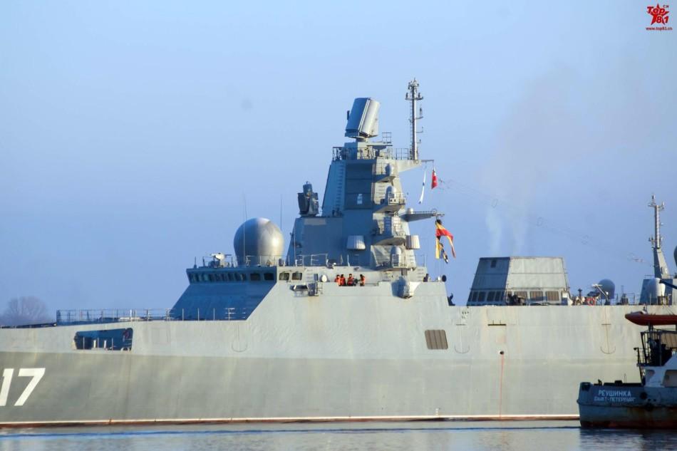 """俄罗斯版""""盾舰""""终于出发海试"""
