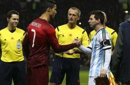 梅西中柱C罗无功 葡萄牙补时绝杀1-0阿根廷