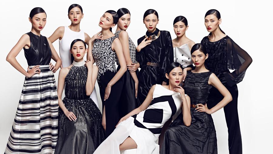中国时尚大奖2014年度十佳模特大片出炉