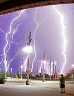 全球闪电奇观 大自然震撼之美
