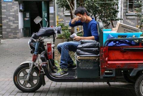 杭州快递小哥双十一货物被盗