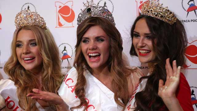 地球小姐选美俄罗斯赛区冠军出炉