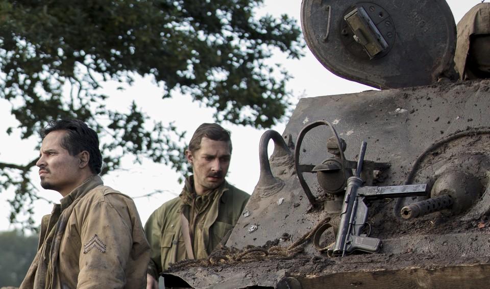 狂怒首映:坦克世界震撼大厮杀