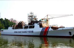 新造海警船外形酷似海军056舰
