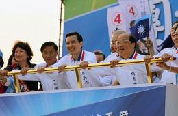 国民党120年党庆台中登场 马英九力拼中台湾选情