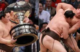 横纲白鹏第32次夺冠 创最高纪录