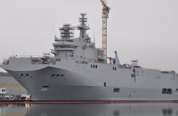 法售俄第2艘西北风级战舰下水