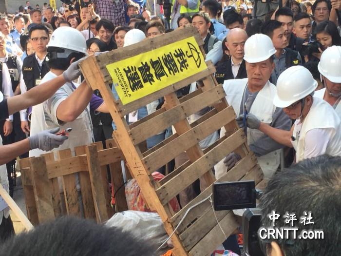 香港今对占中核心区进行清场 六千警力协助