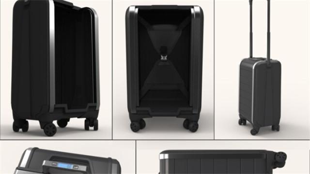 智能行李箱Trunkster亮相:无拉链 配GPS不怕丢