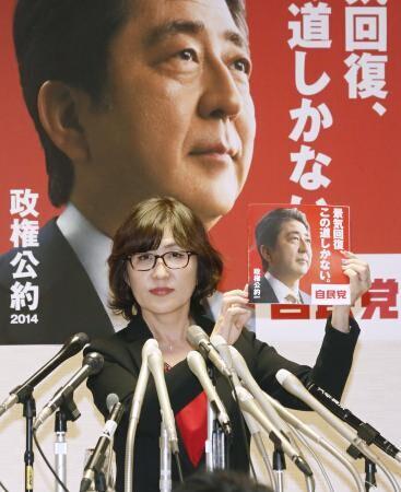 日自民党发众院竞选纲领 称安倍经济学系唯一道路