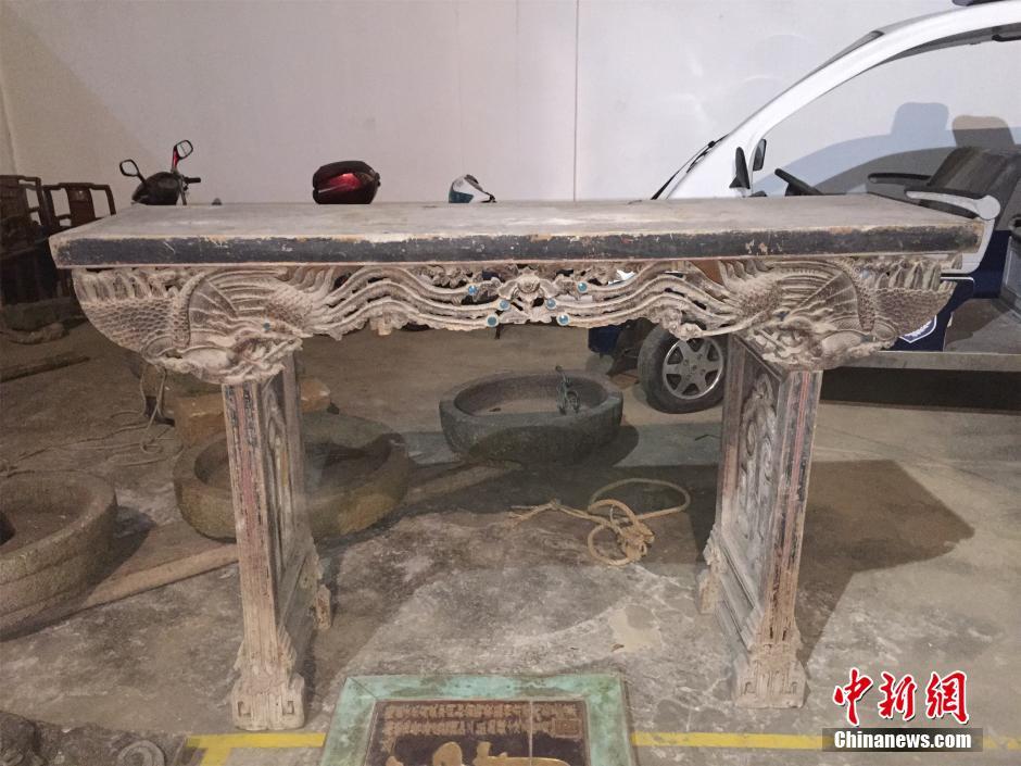 温州古村落文物接连失窃 200斤石盘惨遭厄运