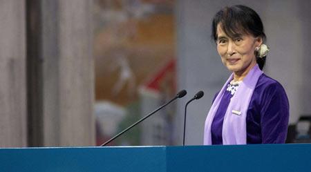 缅甸要搞六方会谈谈修宪 昂山素季无法参选总统