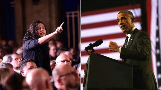 """""""黑与白""""再次冲击美国 奥巴马怒斥小镇骚乱犯罪"""