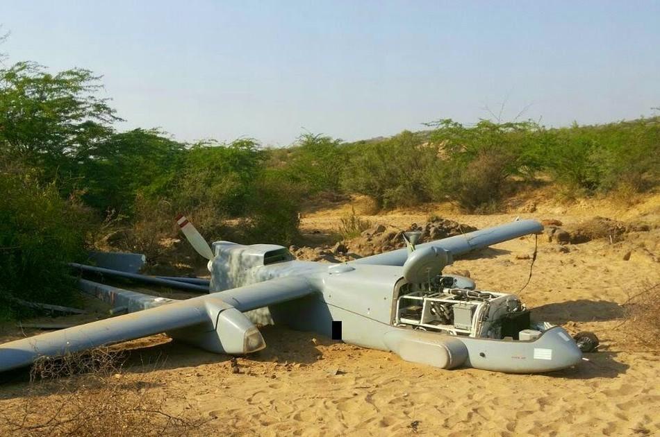 印度空军1架 苍鹭 无人机坠毁 军事 环球网