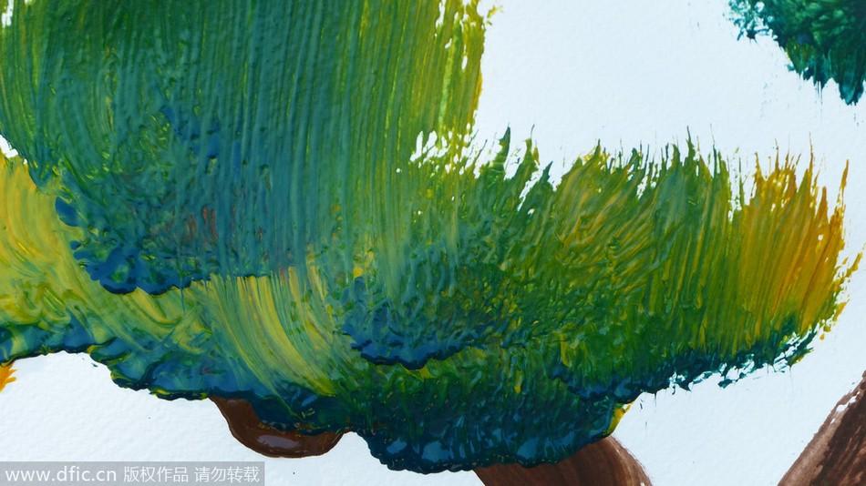 毕加索著名抽象画