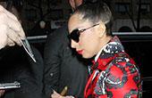 Lady Gaga 11月26日纽约街拍