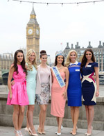 2014世界小姐参赛佳丽齐聚伦敦