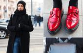 莫斯科街拍女主角:俄罗斯今冬潮流趋势