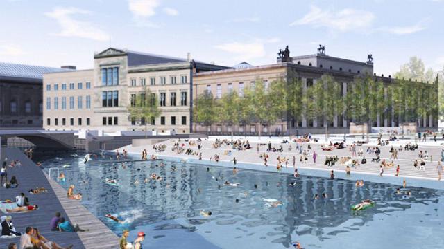 柏林环保协会拟将市内河流打造为全球最大泳池