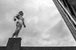 世界跑酷冠军伦敦裸跑