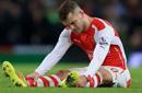 阿森纳否认威尔希尔伤势恶化 称明年2月预计复出