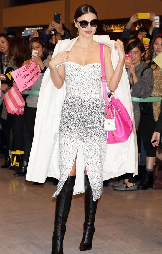 米兰达·可儿12月9日东京街拍