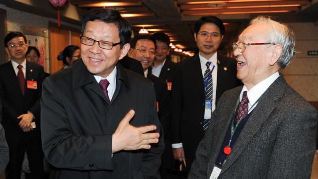 陈德铭率海协会参访团抵达台北开始访台行程