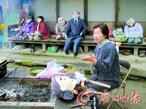 6省份深度老龄化|老龄化加剧 日本老人制稻草人为村庄添人气(图)