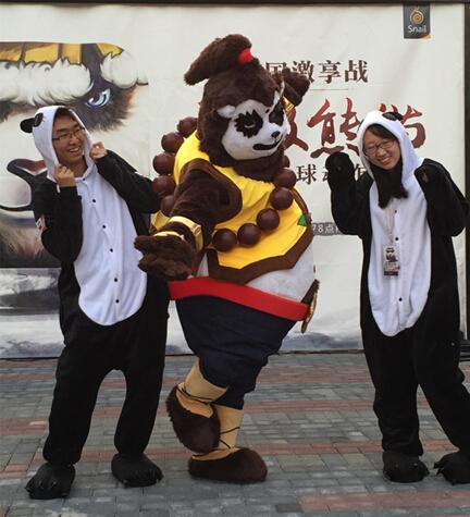 熊猫来了!蜗牛移动校园激享战深圳开打