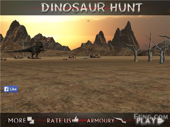 冒险、致命、惊魂一个都没啊:《恐龙亨特》