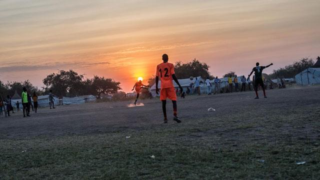 全球人道主义危机最严重地区南苏丹(图)