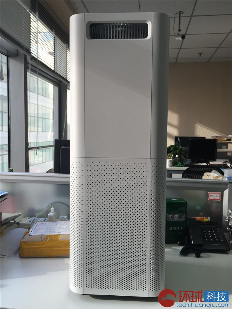 室内空气清新起来 小米空气净化器办公室试用