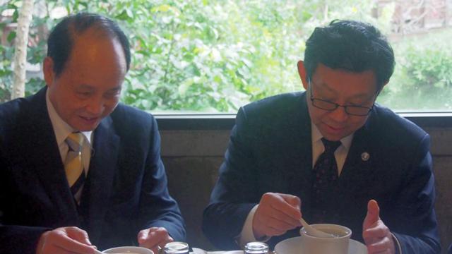 海协会会长陈德铭参访台湾花莲 考察当地农业