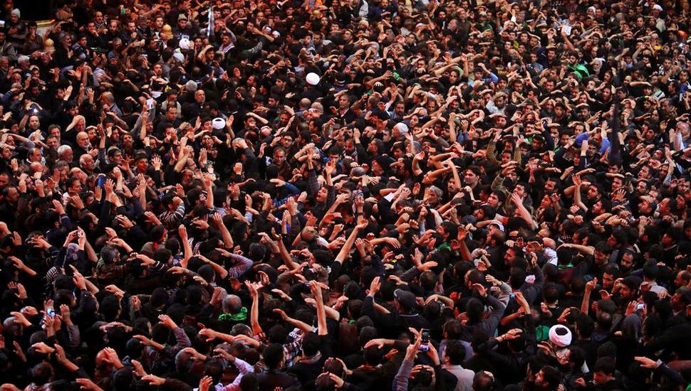环球图片一周精选 伊拉克穆斯林朝圣者迎接阿巴因节