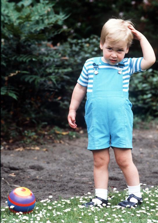 乔治小王子近照曝光 像极30年前小威廉